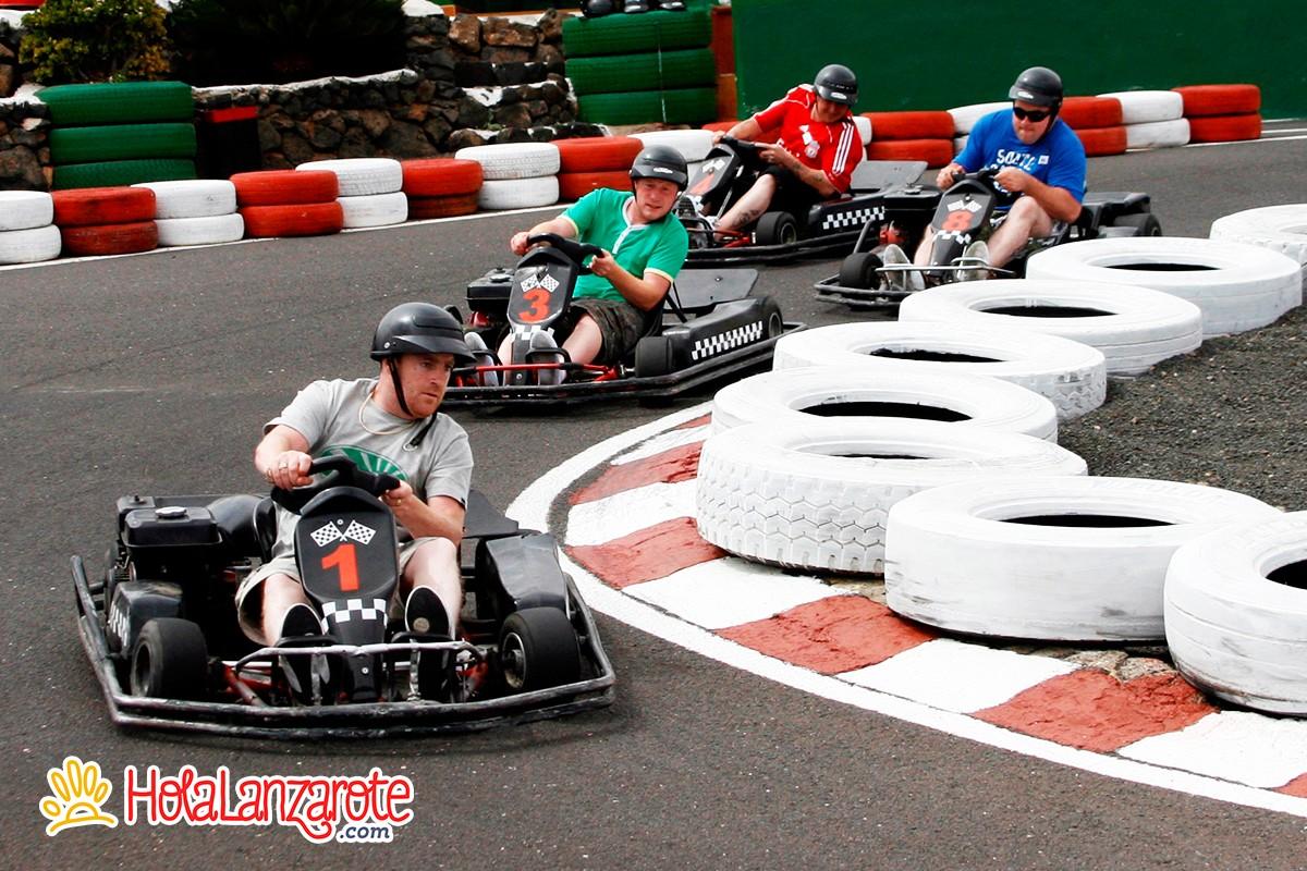 Circuito Karting : Circuito de karting en lanzarote holalanzarote