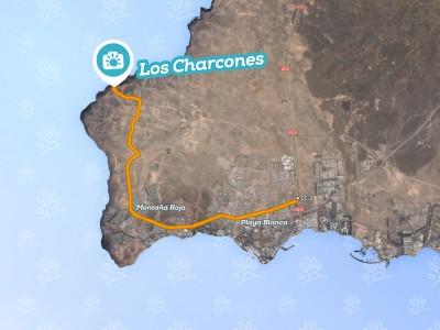 Cartina Lanzarote.Los Charcones Holalanzarote Com